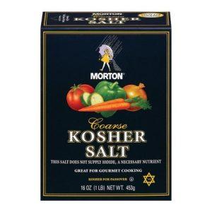 Sal Kosher marca Mortons