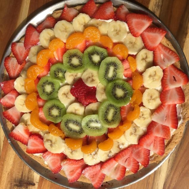 Pizza de Frutas 1