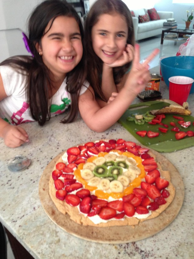 Pizza de Frutas 7