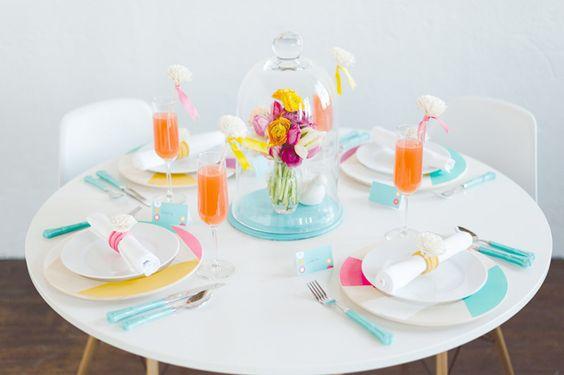 turquesa mesa