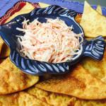 Receta fácil de dip de Spicy Crab. Spicy Crab dip recipe. www.ensalpicadas.com