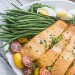 Receta de ensalada de salmon nicoise