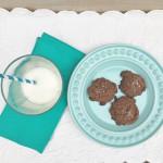 Receta de galletas de chocolate con Nutella. www.ensalpicadas.com