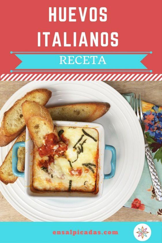 Receta de Huevos Italianos muy deliciosos.