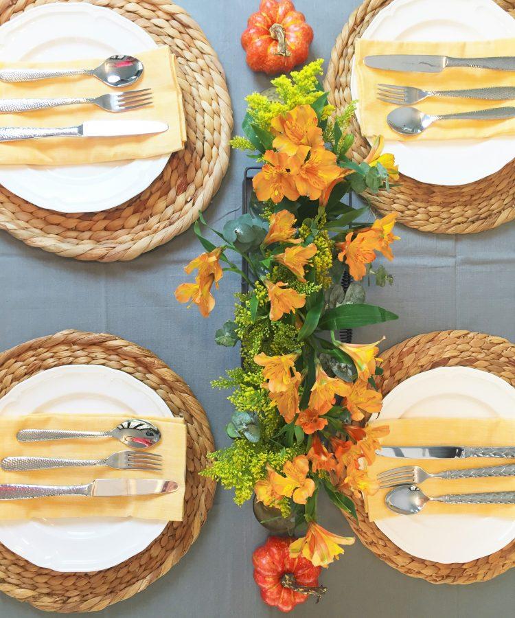 Ideas para decorar la mesa en otoño