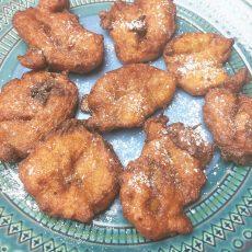 Receta de las mejores Barriguitas de Vieja o Tortitas de Calabaza. www.ensalpicadas.com