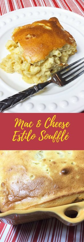 Receta de Macarrones con Queso (Mac & Cheese) al Estilo Soufflé