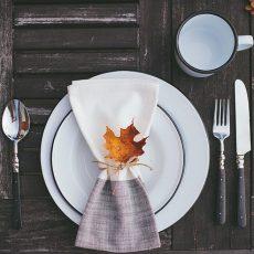 Ideas para decorar la mesa en Acción de Gracias o otoño. www.ensalpicadas.com