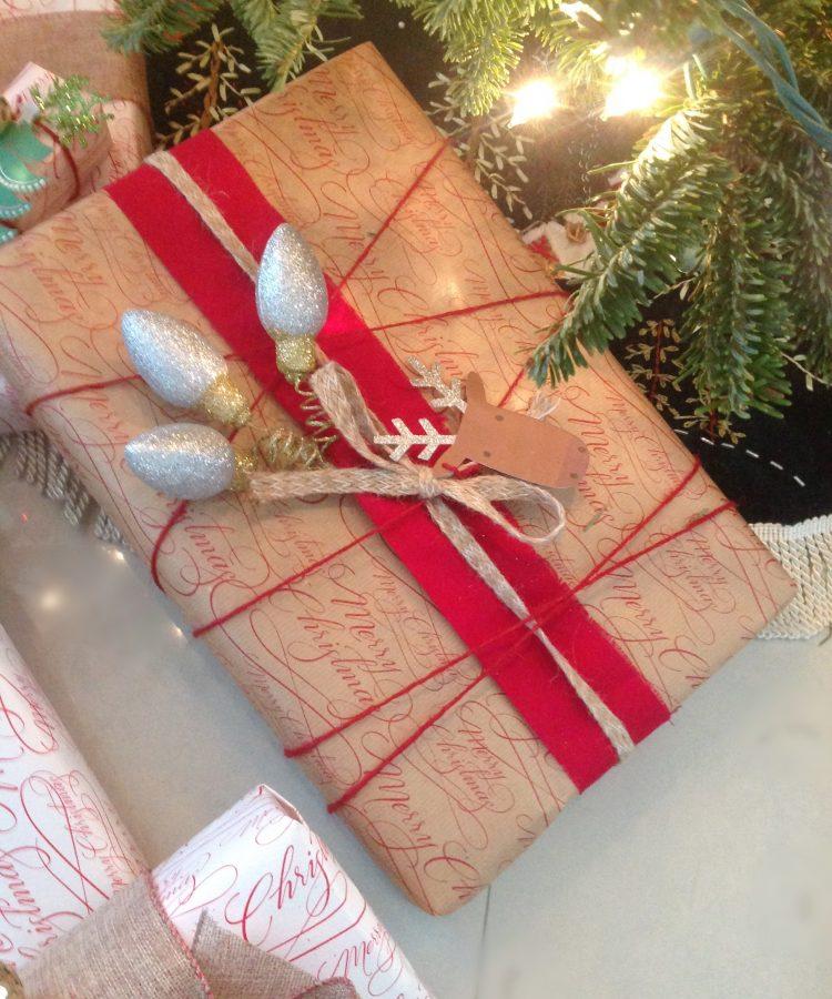 Envolturas de regalo originales para navidad ensalpicadas for Envolturas para regalos