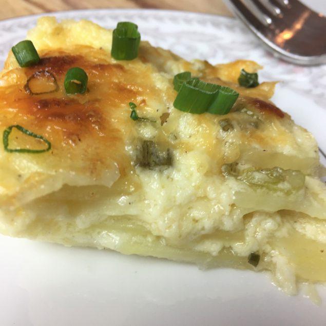 Receta de Papas Gratinadas - scalloped potatoes