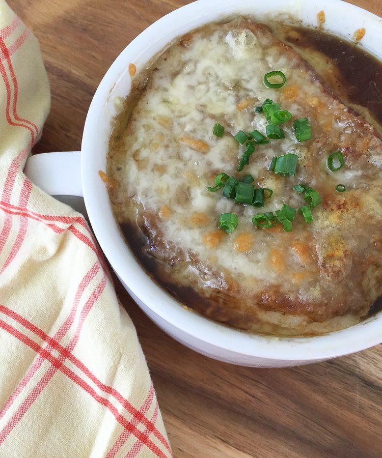 Receta especacular de Sopa de Cebollas Francesa. Recetas fáciles.