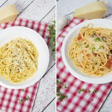 Cocina como un Chef con estas recetas de espagueti que se cocinal en el sartén, con unas salsas espectaculares pero bien fáciles de preparar.