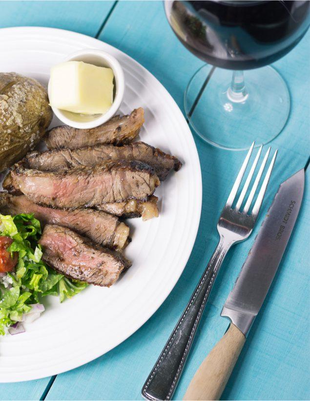 Como cocinar un buen corte de carne (steak) para que quede como el de un restaurante