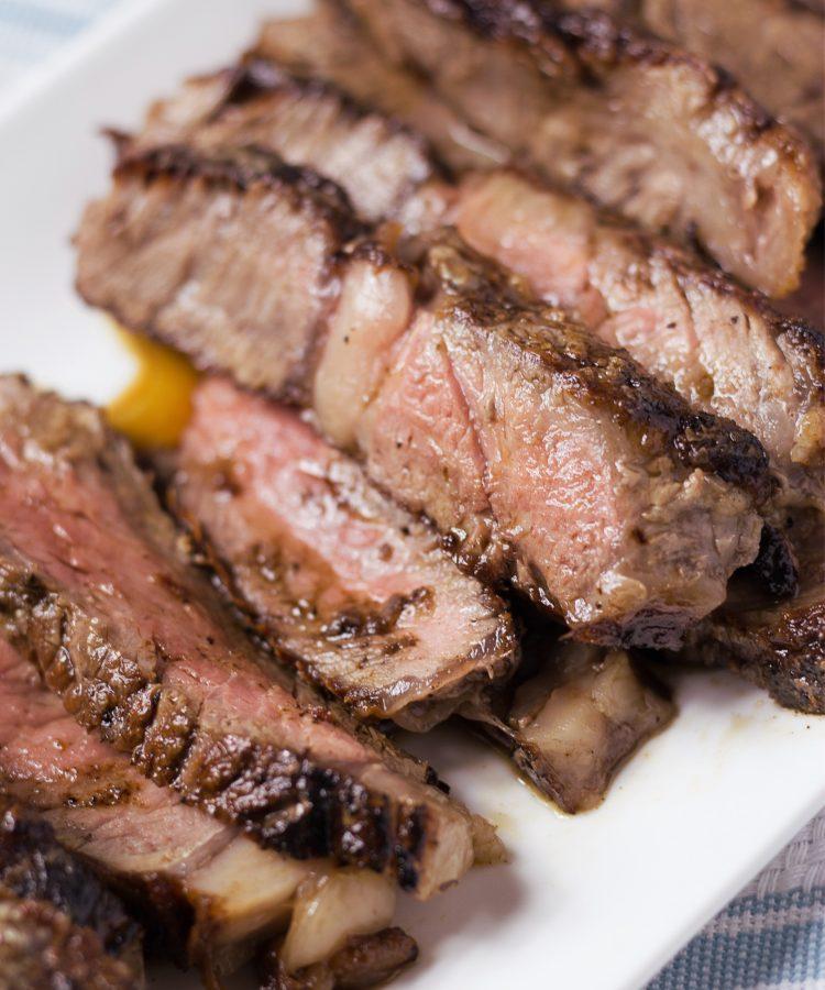 Metodo para cocinar un buen corte de carne.