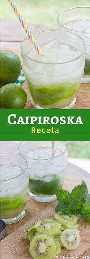 Receta de Coctel Refrescante Llamado Caipiroska.