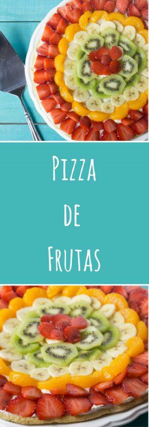 Receta de Pizza o Tarta de Frutas. Ensalpicadas.com