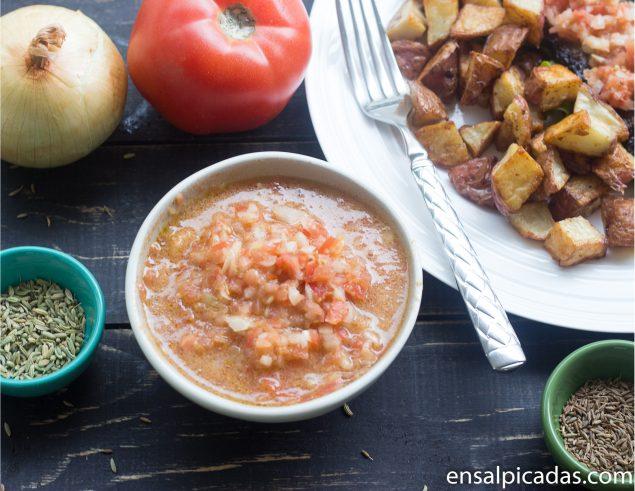 Receta de Chimichurri de Tomates.