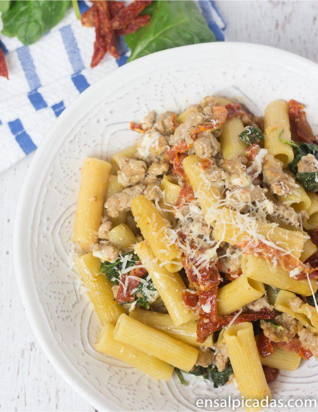 Recetas de cocina pasta con carne molida