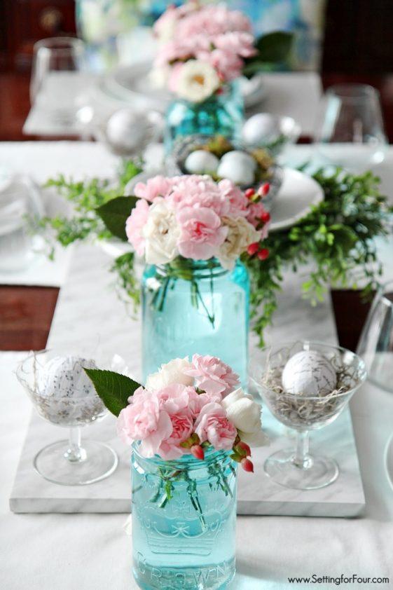 Ideas para decorar la mesa en primavera.