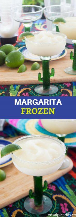 Receta de la mejor Margarita Frozen