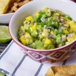 """Receta de ensalada de aguacate y mango estilo """"salsaL"""""""
