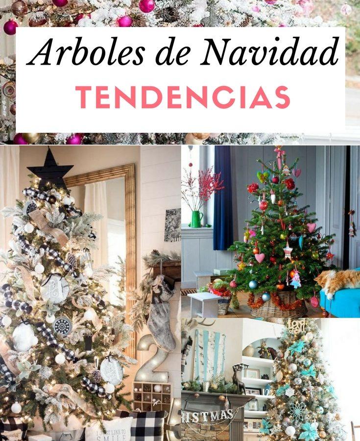 Decoraci n de navidad nuevas tendencias para decorar tu - Arboles de navidad de chuches ...