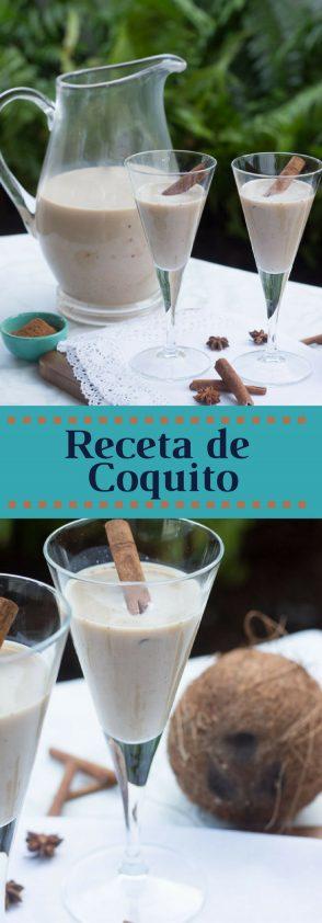 Receta de Coquito (coconut eggnog)