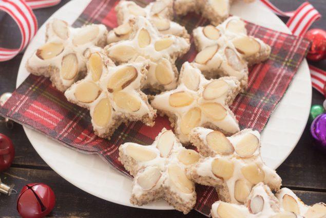 Receta de Galletas de Navidad con Almendras