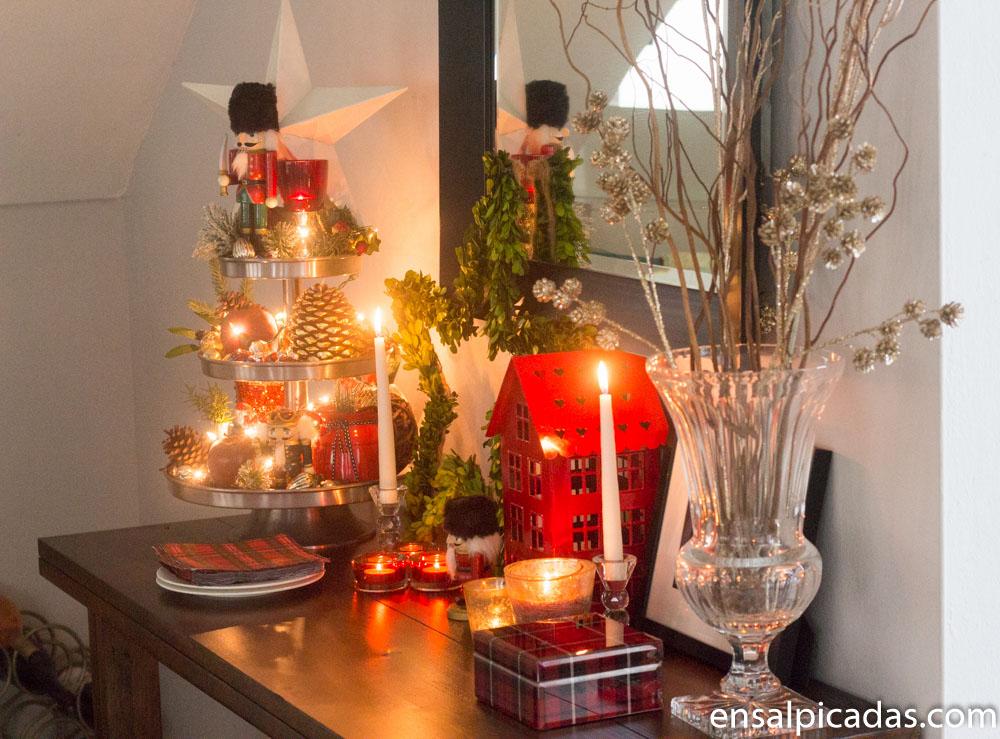Decoracion navidad 2017 2 6 ensalpicadas - Decoracion de adornos navidenos ...