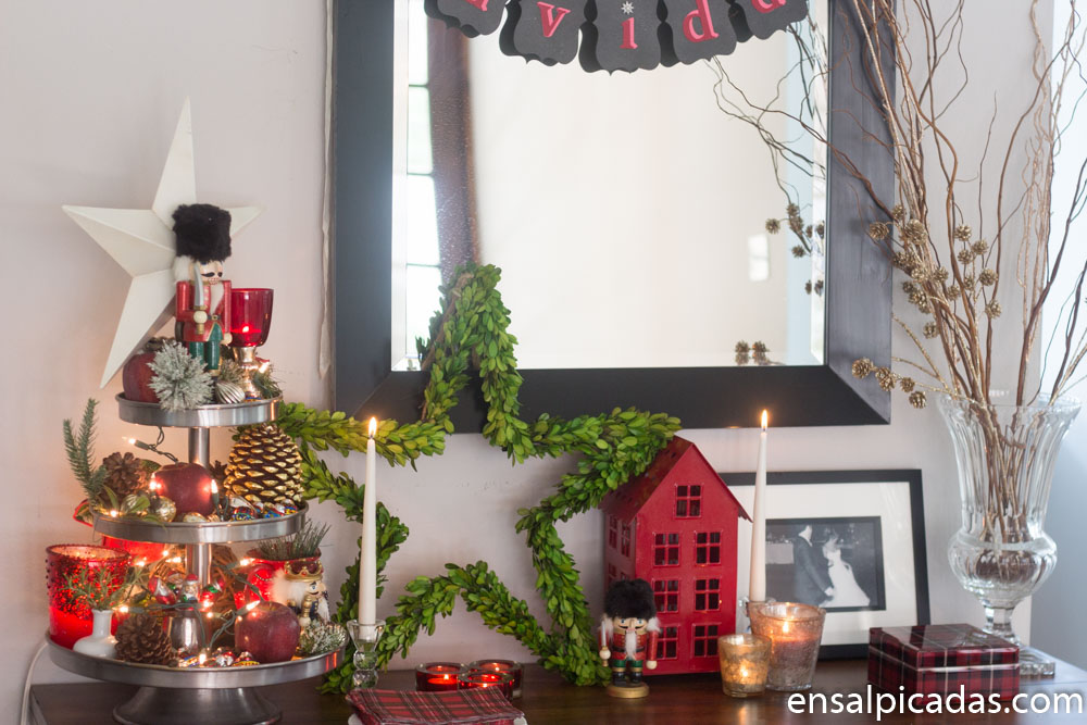 Decoracion de navidad 2017 2 ensalpicadas for Decoracion de navidad 2017