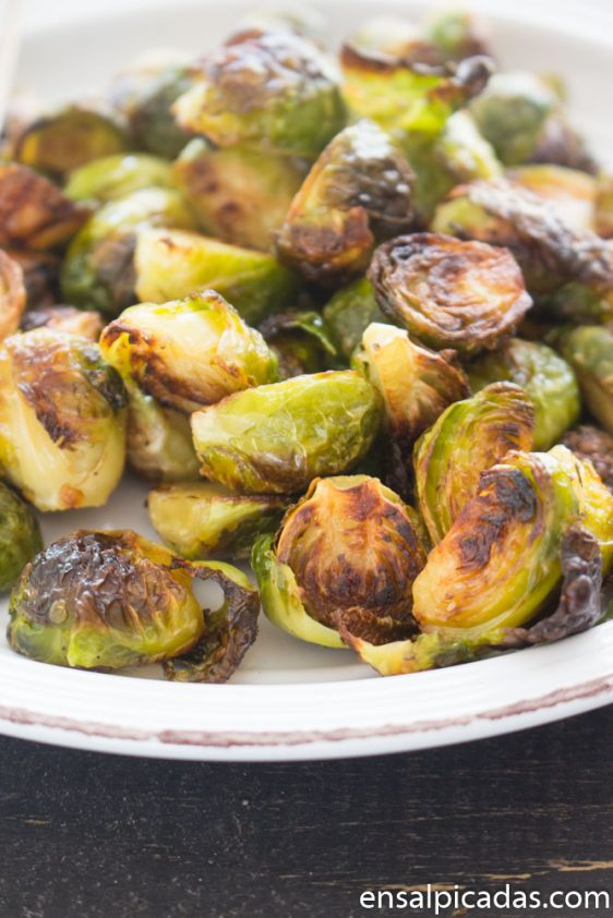 Brussels sprouts al horno