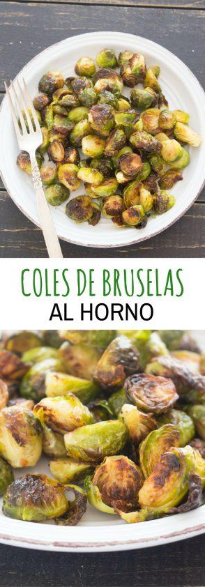Brussels Sprouts (Coles de Bruselas) al Horno
