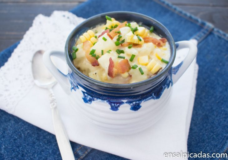Receta de crema de papas (patatas)