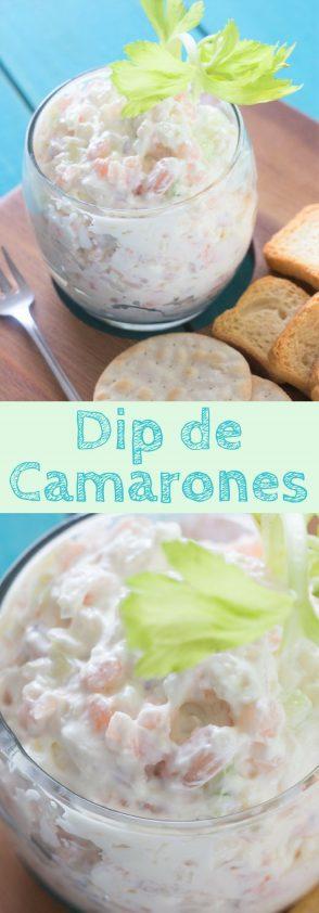 Receta de Dip de Camarones
