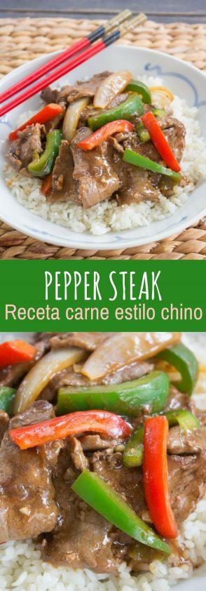 Esta receta sabe exactamente como en el restaurante chino.