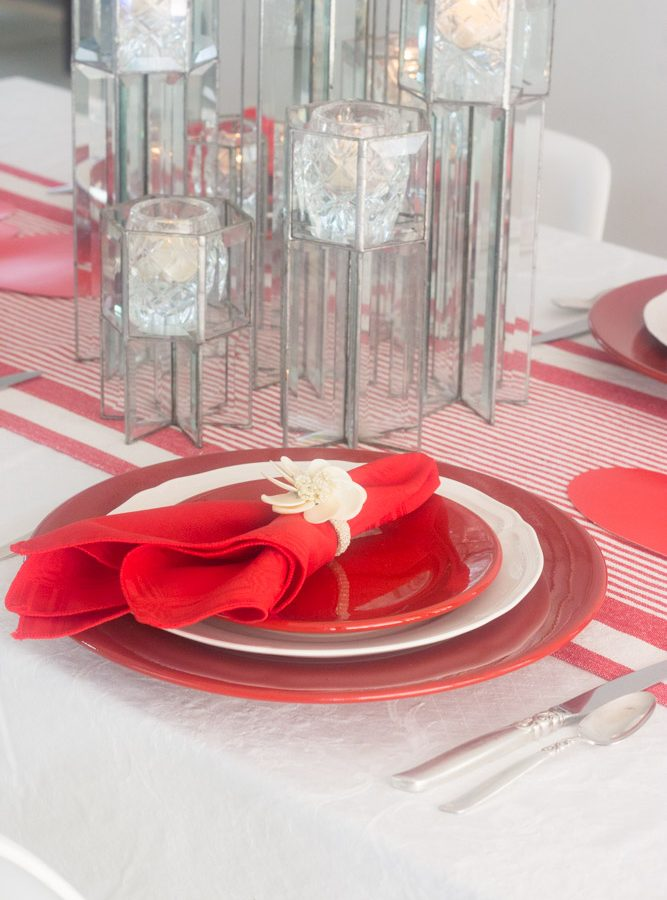 Ideas para san valentin decoracion de la mesa y recetas for Decoracion para san valentin