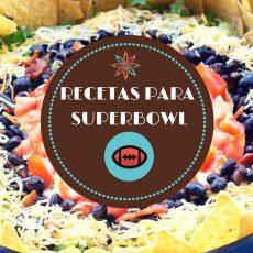 Recetas de aperitivos para el superbowl