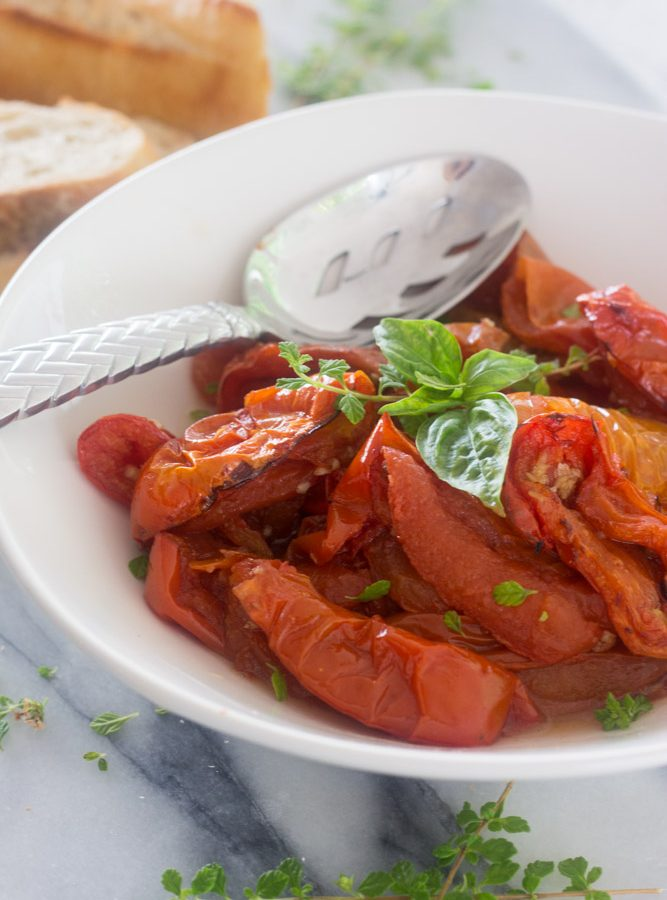 Receta de Tomates al Horno