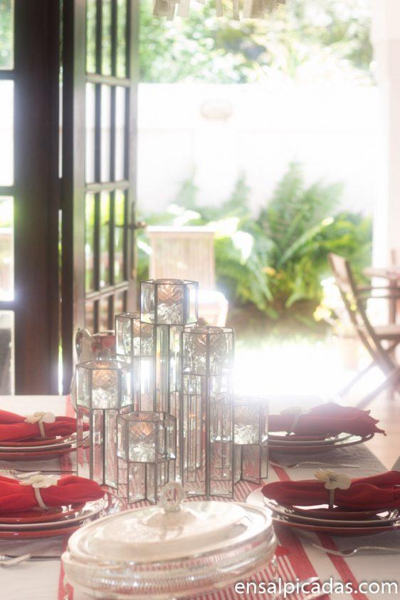 Ideas para decorar la mesa de San Valentin