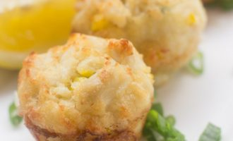 Receta de Crab Cakes Mini