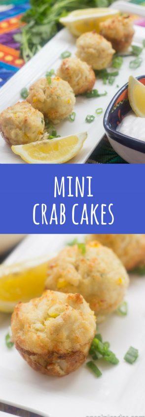 Receta de Mini Crab Cakes