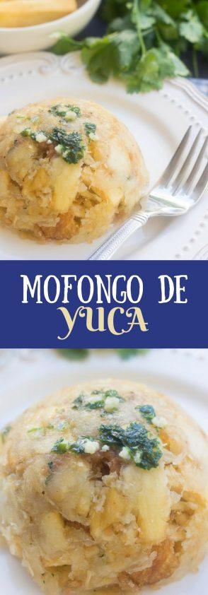Receta de Mofongo de Yuca