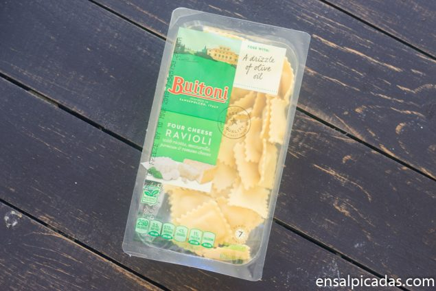Receta de Raviolis Empanados Fritos