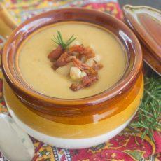 Receta de Crema Toscana de Alubias (habichuelas) blancas