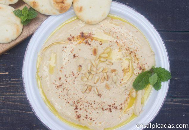 Receta de Hummus Básico