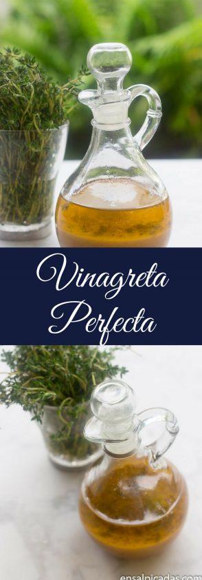 Receta de Vinagreta Perfecta