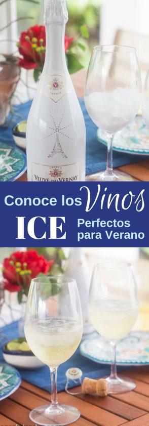 Conoces los vinos Ice? Son los vinos espumosos perfectos para verano. Se toman con hielo.