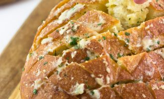 Receta de Pan con Ajo y queso al horno