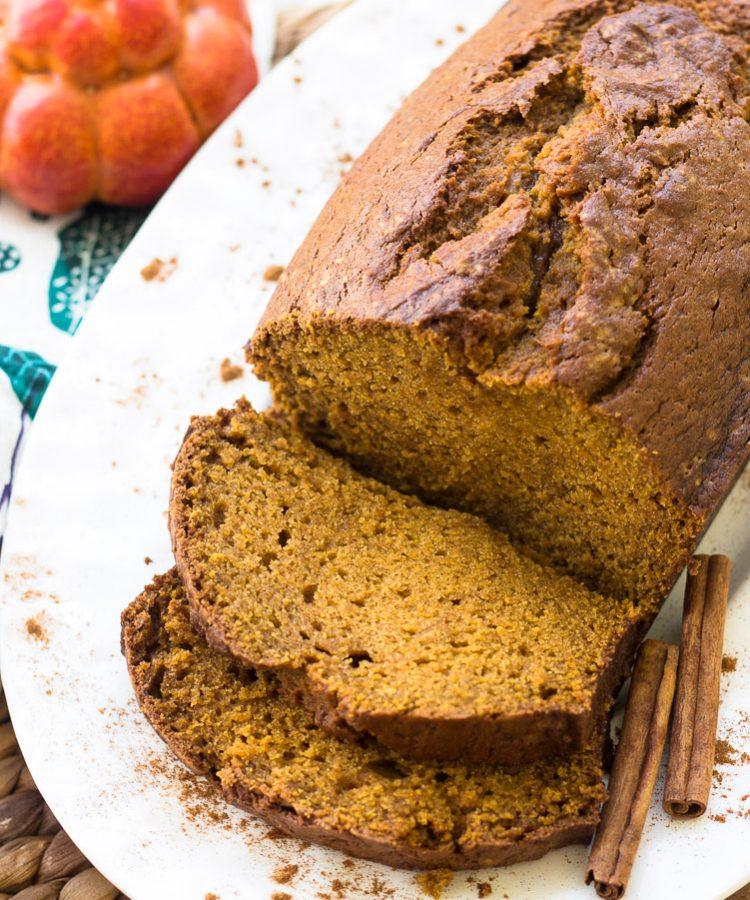 Receta fácil de pan de calabaza.