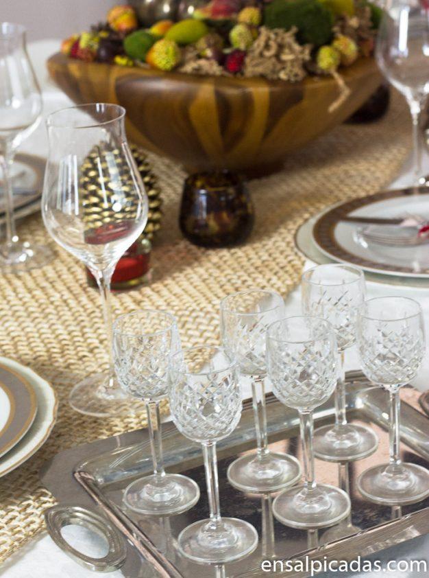 Mesa de Thanksgiving. Acción de Gracias